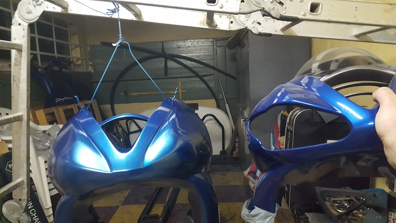 Paint Bike Fairings With Rattle Cans