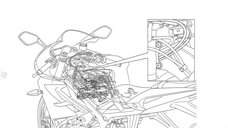 Elektrisches Schaltbild Triumph Daytona 675