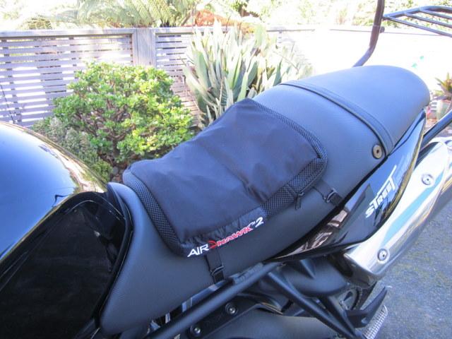 Airhawk Seat Cushion For The Triple Triumph675 Net Forums