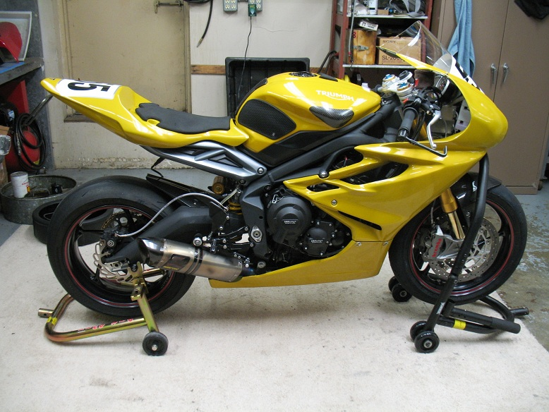 2015 Scorched Yellow 675R - Triumph675 Net Forums