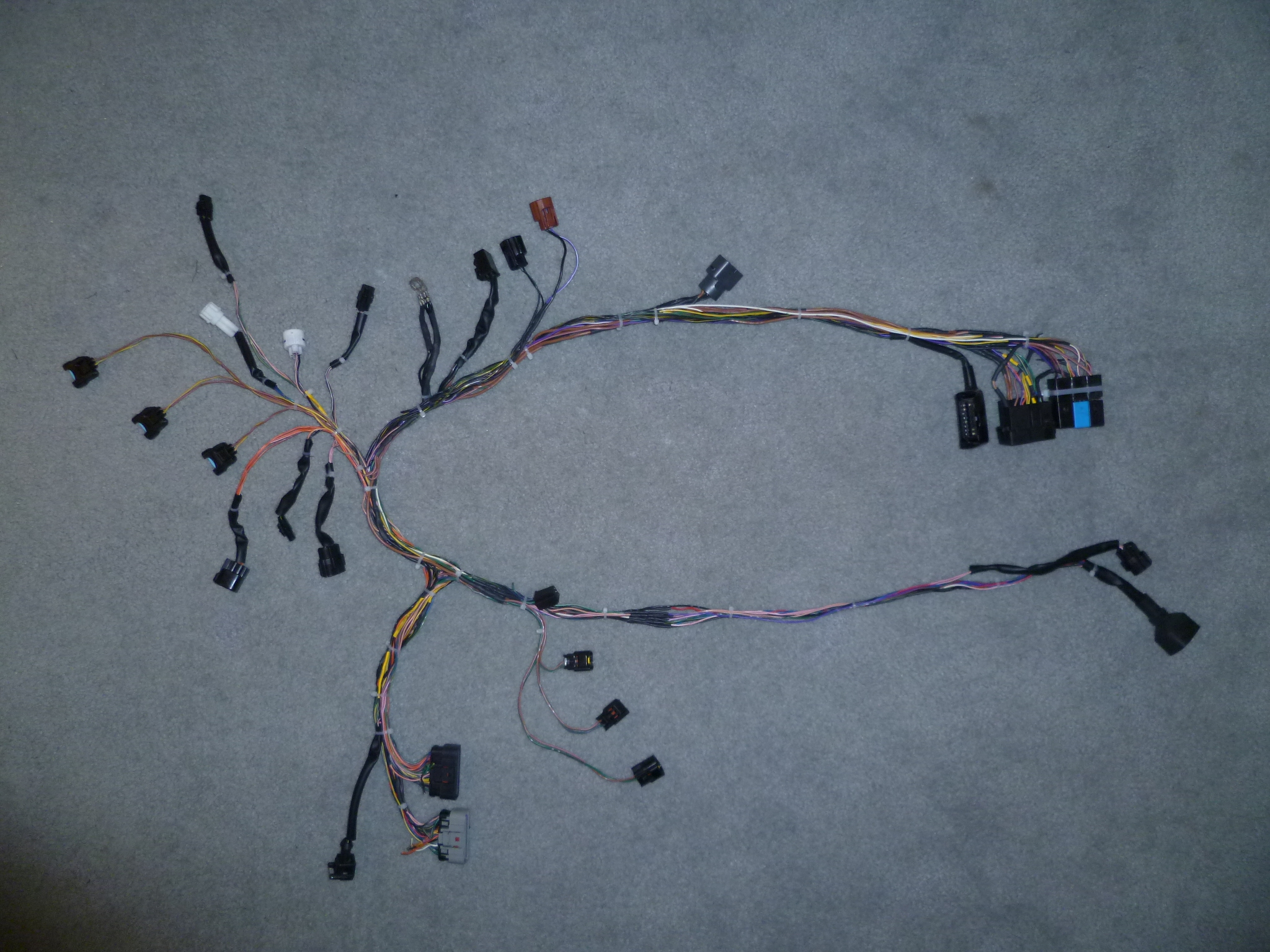 Howto Daytona 675 Custom Wire Harness For Track Usage Page 2 Mb Wiring Click Image Larger Version Name P1000514 Views 5751 Size 156