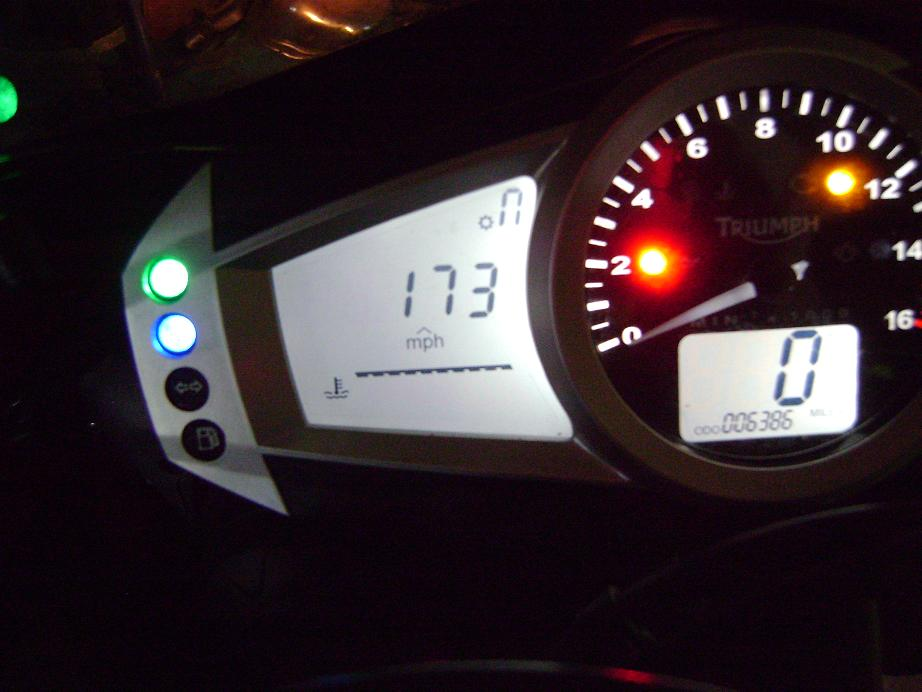 Whats your TOP SPEED? - Page 5 - Triumph675.Net Forums